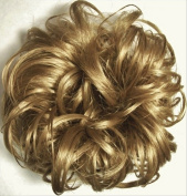 LACEY 7.6cm Pony Fastener Hair Scrunchie 24 Golden Ash Blonde