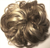 LACEY 7.6cm Pony Fastener Hair Scrunchie 18-22 Ash Brown-Ash Blonde