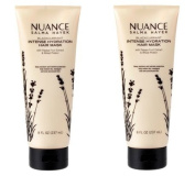 Nuance Salma Hayek Intense Hydration Hair Mask Blackcurrant with Papaya Fruit Extract Plus Wheat Protein [Pack of 2]