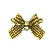 8pcs 21x30mm Antique Bronze Lovely Filigree Butterfly Pot Bow Connector Link Charm Pendant C1823