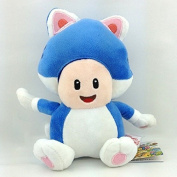 19cm Super Mario Bros Cat Toad 3d Plush Anime Doll Stuffed Animals Cute Soft Collection Toy Best Gift for Kids