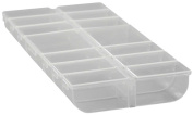 14 SECTIONED BOX W/ SNAP DOWN LIDS FOR EACH SECTION