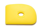 Sherrill Mudtools Shape 2 Polymer Rib for Pottery and Clay Artists, Yellow Colour Soft