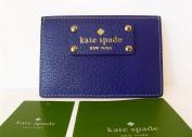 Kate Spade Wellesley Graham Leather Credit Card Case, Blueberry Jam