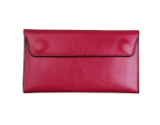 E-Clover Fashion Leather Wallet Clutch Womens Evening Purses Handbags