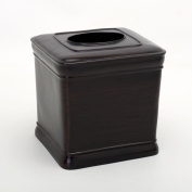India Ink - Marion Tissue Cube Cover in Oil Rubbed Bronze - Oil Rubbed Bronze
