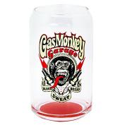Gas Monkey Garage Spark Plug Can Glass, 350ml, Clear