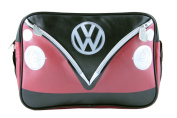 VW LANDSCAPE SHOULDER BAG - RED & BLACK