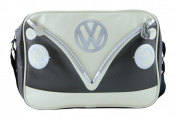 VW LANDSCAPE SHOULDER BAG - BROWN & WHITE