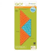 AccuQuilt GO! Quarter Square-11cm Finished Triangle