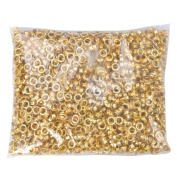 2000pcs 0.6cm #0 Grommet Machine Grommets Machine Grommets & Washers Brass Eyelet Die for Posters Tags Signs Bags