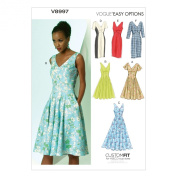Vogue Patterns V8997 Misses' Dress Sewing Template, Size E5