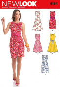 Simplicity Creative Patterns New Look 6184 Misses' Dresses, A