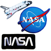 NASA Iron on Patches #4 - Super Save Pack