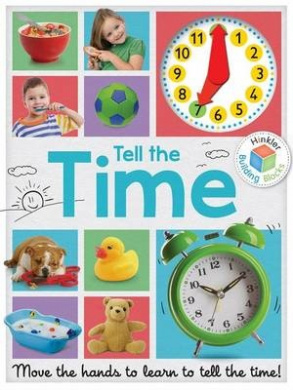 Tell the Time Clock Book (Building Blocks)