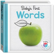 Building Blocks Words Baby's First Padded Board Book