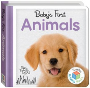 Building Blocks Animals Baby's First Padded Board Book
