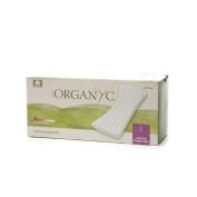 Wholesale Organyc Cotton Flat Panty Liners - 24 Pack, [Bathroom, Feminine Care]