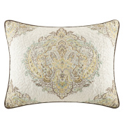 Harbour House Miramar Quilted Sham, 50cm by 70cm , Multicolor