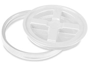 Gamma Seal Lid for 3.5, 5, 6, and 26.5l Plastic Pail - White