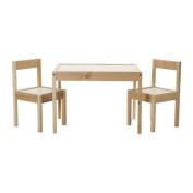 IKEA Children's Kids Table & 2 Chairs Set Furniture