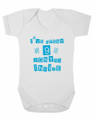 Purple Penguin Clothing Baby Grow - I've spent 9 Months Inside
