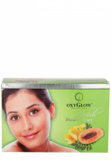 OxyGlow Nature's Care Herbal Bleach Cream With Papaya Extracts For Skin 240 gm