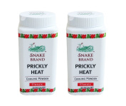 Snake Brand Classic Prickly Heat Cooling Powder 50g Travel Size