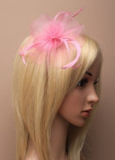 Allsorts® Light Pink Aliceband Headband Hat Fascinator Ladies Day Races Royal Ascot
