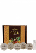 Oxyglow Nature's Care Gold Facial Kit, Skin Serum For Extra Smoothness & Shine