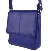 Ladies Compact LEATHER Shoulder Cross Body BAG By PrimeHide Handy 5 Colours