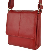Ladies Small LEATHER Shoulder Cross Body BAG By PrimeHide Handy 5 Colours
