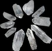 Quartz Crystal Wands Points 3.8cm - 5.1cm Grid Set of 10