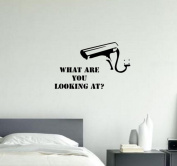Banksy What Are You Looking At . wall decal sticker vinyl street art graffiti A4 size