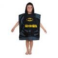 Lego DC Superheroes Batman Kapow Hooded poncho towel