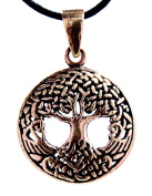 Pendant Bronze Tree of Life with Cotton Band
