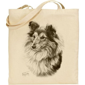 Mike Sibley Collie Cotton Natural Bag
