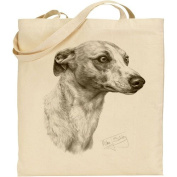 Mike Sibley Whippet Cotton Natural Bag