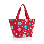ZS3048 Reisenthel Shopper M bag for shopping, leisure or the office - funky dots 2