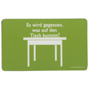 "Gilde Inkognito Breakfast Board ""It is used as the Tisch... 23 x 14 CM"