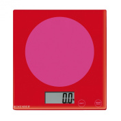 Kitchen Scales Pink meets Red