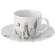 Peter Rabbit classic Porcelain Tea Cup and Saucer Set