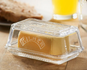 New Kilner Glass Storage Serving Cheese Kitchen Tray Holder Butter Dish With Lid