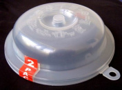 Pms 2 Plastic Microwave Plate Bowl Covers [Kitchen & Home]