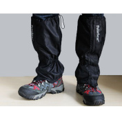 Tailcas Durable 1 Pair Waterproof Breathable Gaiters Snow Legging Gaiters for Outdoor Walking / Hiking / Climbing / Camping / Hunting -