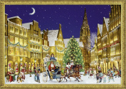Christmas In Town A4 Traditional German Advent Calendar Coppenrath