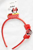 Disney Minnie Mouse Head Alice Band with Bow Hair Accessory