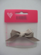 HAIR BOW ON METAL CLIP FOR GIRLS