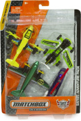 Sky Safari, Airliner, Transport Helicopter, Freeway Flyer Die-Cast Vehicle Pack