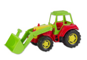 47cm Plastic Tractor With Front Loader - Boys Toys - Toy Tractors